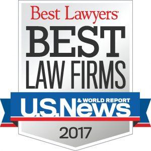 2017 U.S. News Best Lawyers Badge